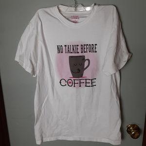 Lifestyle Classics White Cotton Mug Graphic Shirt